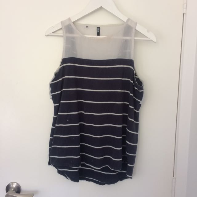 RPM Cool Back Top