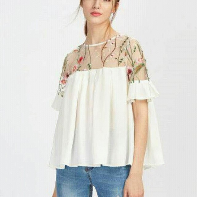 RS- Embroidered Top