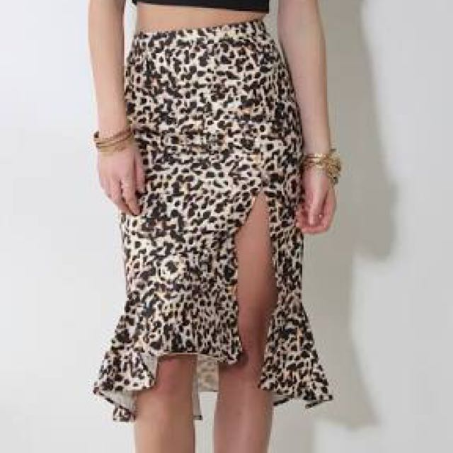 Runaway the Label Josie Trumpet Skirt
