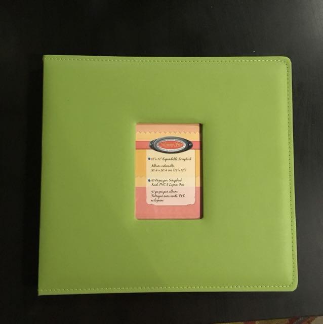 Scrapbook 12x12 expandable