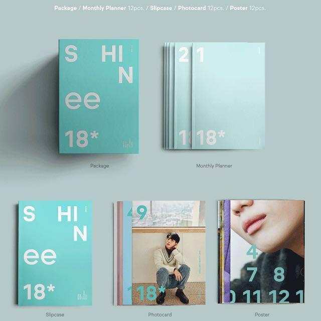 SHARING] Shinee Season Greetings 2018, Entertainment, K-Wave