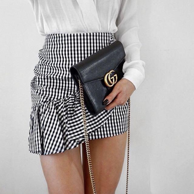 Sheike Gingham Skirt Size 6