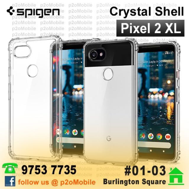 100% authentic 2aa21 cce83 Spigen Crystal Shell for Google Pixel 2 XL