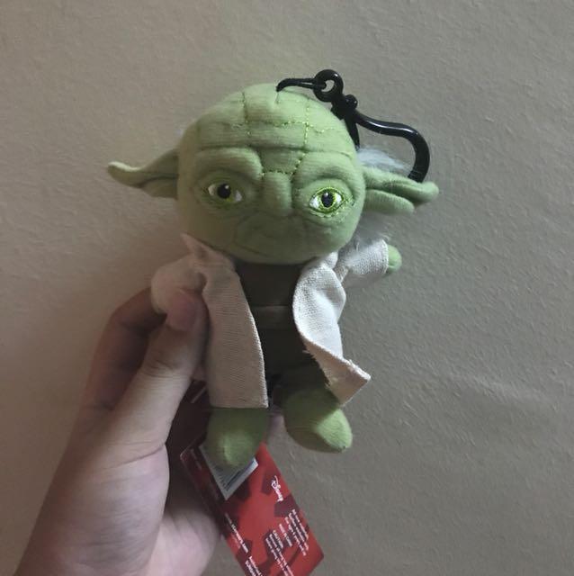 Star Wars Yoda Stuffed Toy Keychain Toys Games Bricks