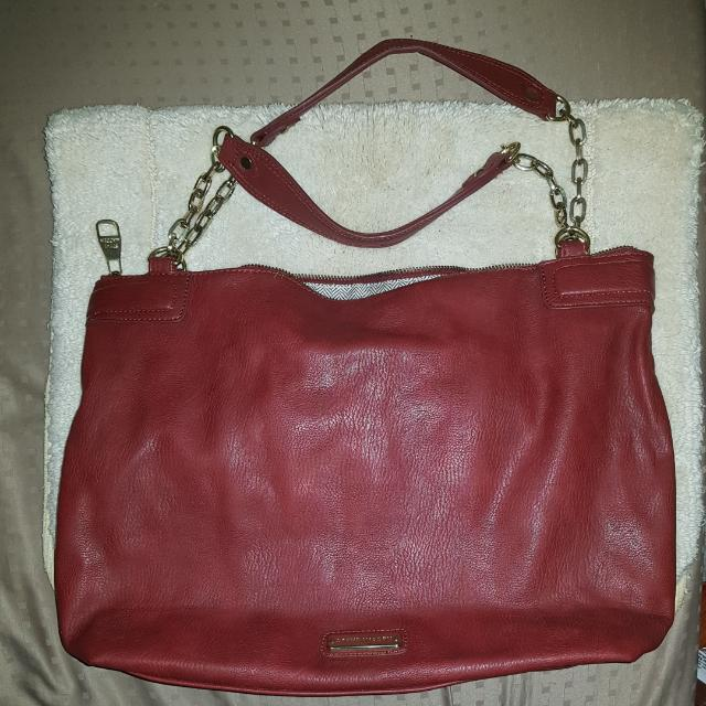 Steve Madden Chained Red Bag