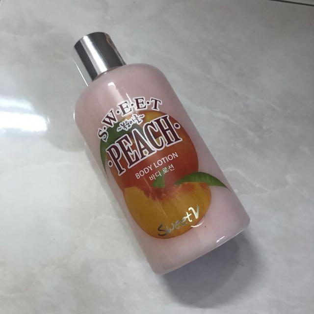 54f291840e26 SWEET V body lotion (peach)