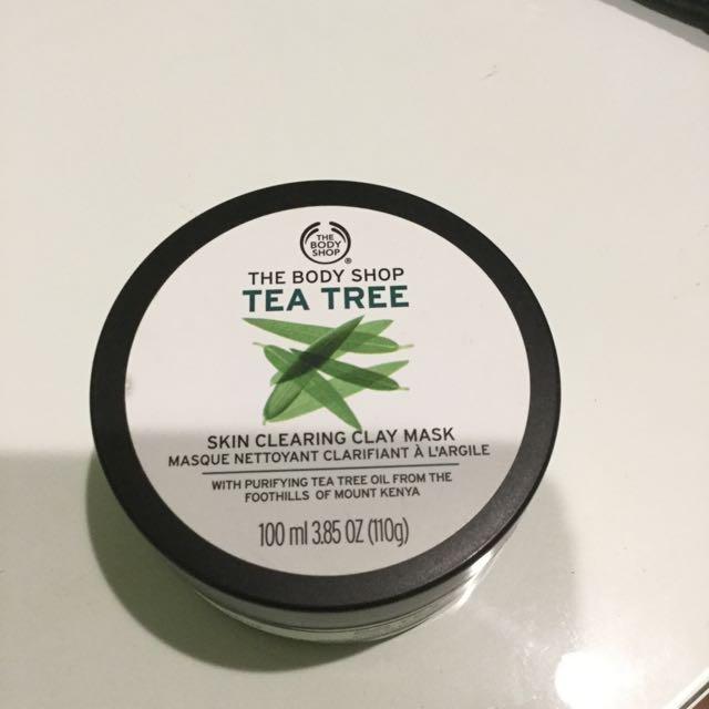 The Body Shop 茶樹面膜