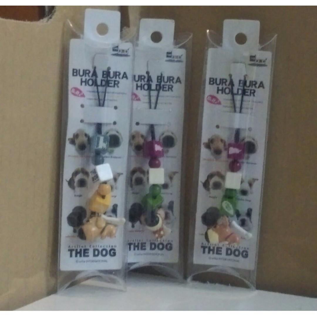 THE DOG 大頭狗吊飾 X3
