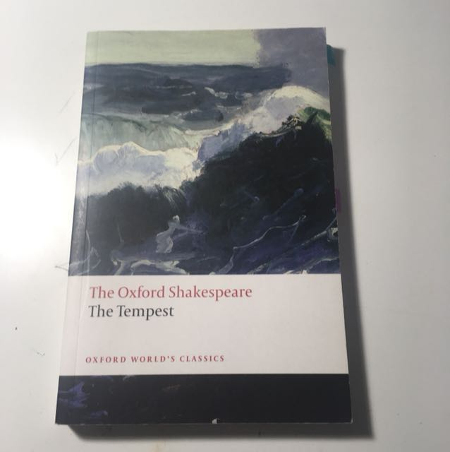 The tempest ENG textbook
