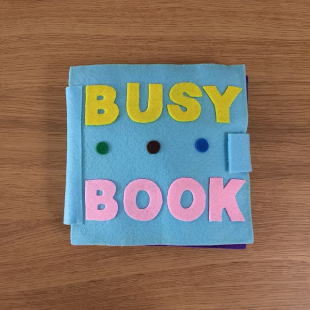 Toddler Activity / Busy Book - Handmade NEW