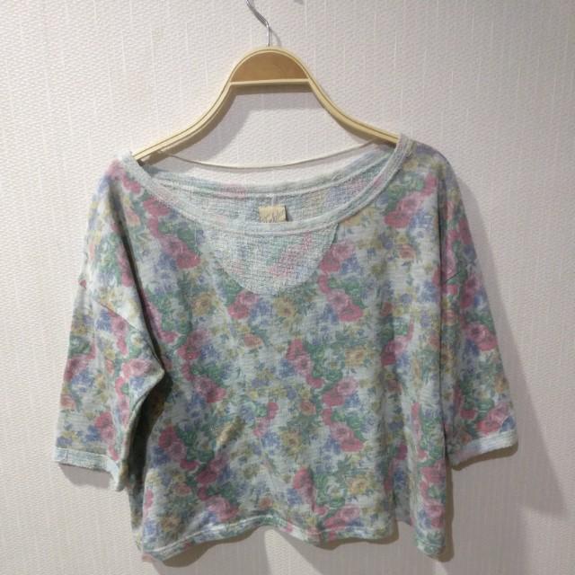 Top crop zara sweater