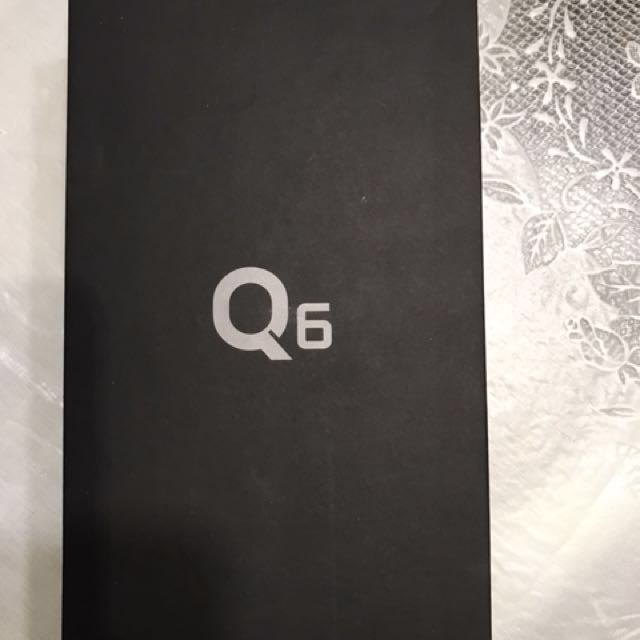 Unlocked LG Q6 brand new sealed in original box With proof of purchase compatible with all providers