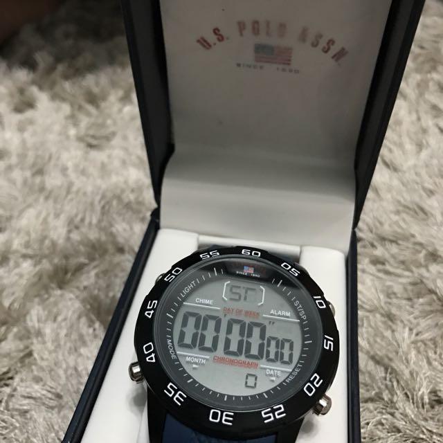 US polo men's watch