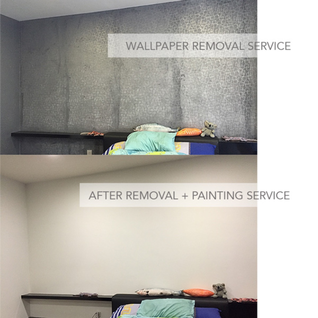 Wallpaper Removal Installation