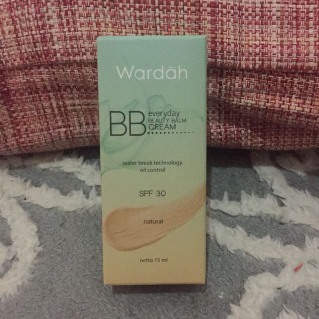 Wardah BB Everyday Beauty Balm Cream SPF 30 - Natural