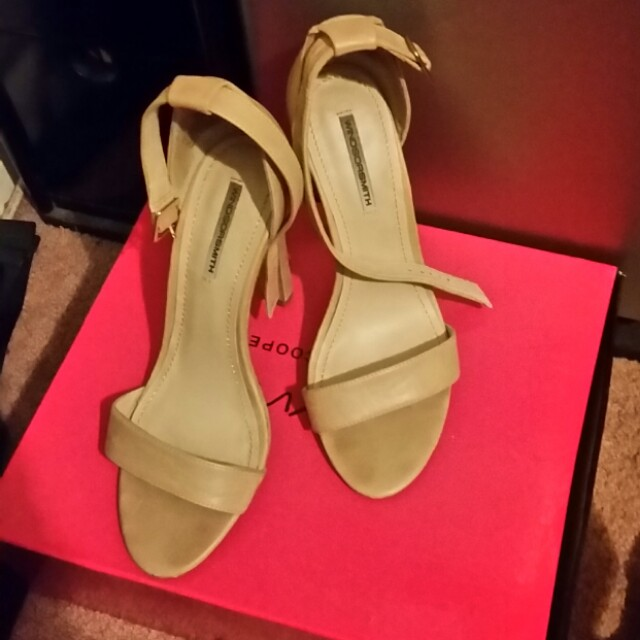 Windsor Smith Nude Heels