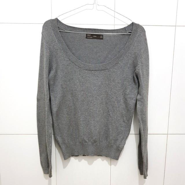 ZARA Gray Sweater