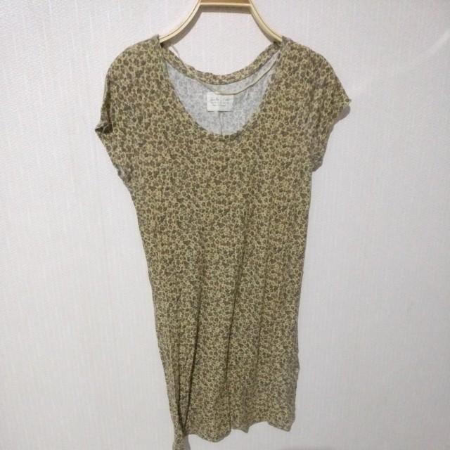 Zara top dress