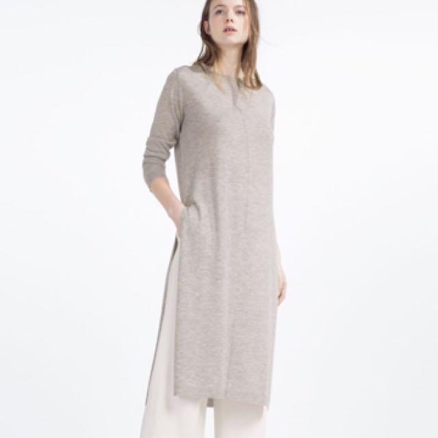 Zara tunic sweater dress