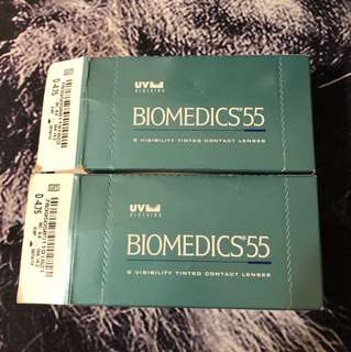 BioMedics55 Tinted Contact Lens