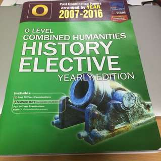 O Level Combined Humanities History Elective TYS