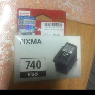 CANON 740 BK 黑色原裝墨盒