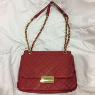 Forever 21 Red Sling/Shoulder Bag