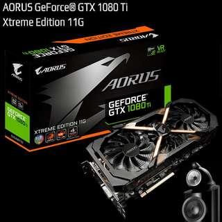 GIGABYTE AORUS GTX 1080 Ti Xtreme Edition 11G GeForce®.