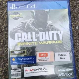 Call of duty-inifinite warfare PS4