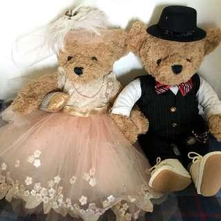 度身訂造婚禮熊