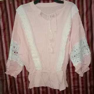 Serba 40rb - Blouse Pink