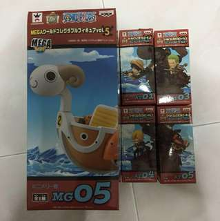One piece wcf mini merry Attack