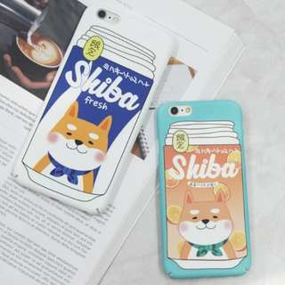 可愛柴犬情侶手機殼iphone case