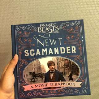 Fantastic Beasts And Where To Find Them Movie Scrapbook