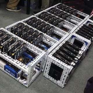 虛擬貨幣挖礦機/架-包料專業代砌代SET機