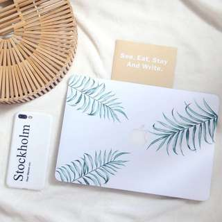 Cute leaves MacBook cover sticker