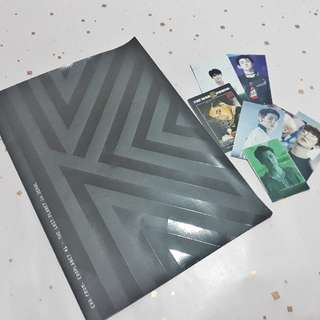 Photobook EXO Kai from DVD The Lost Planet