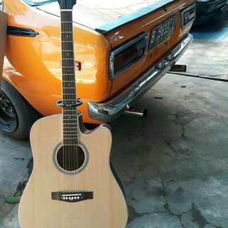 Gitar akustik taylor & cort