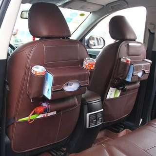 汽車背部實用皮革掛袋,家用汽車零件(benz/七人車/寶馬/日本車/歐洲車)