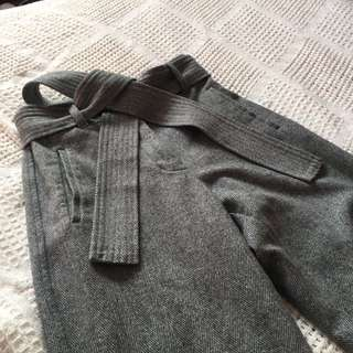 Grey Herringbone Jallade Pant