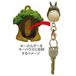 👛鄰居家的豆豆龍鑰匙圈+鑰匙的家(單人) 日本空運宮崎駿吉卜力工作室龍貓