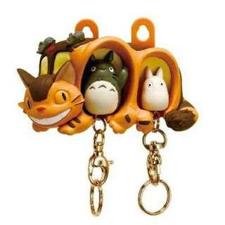 👛鄰居家的豆豆龍鑰匙圈+鑰匙的家(雙人) 龍貓公車 日本空運 宮崎駿吉卜力工作室 龍貓 橡實共和國 Totoro
