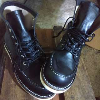 real boots made by order custom