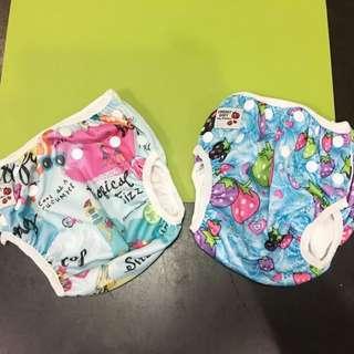 Baby Swimming Diaper set of 2