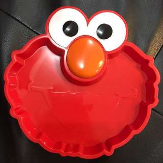 Brand new Elmo lunch plate