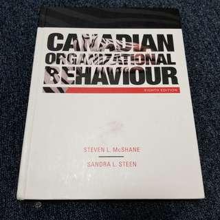Canadian Organizational Behaviour 8th