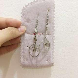 ‼️Repriced Stainless Star Dangling Earrings set