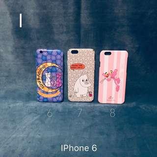 🈹結業清貨 IPhone 6 case 硬底軟邊 手機 電話殻 包郵