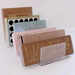 Premium Acrylic organiser Eyeshadow Palette Holder