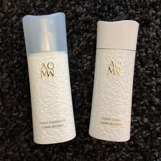 Cosme Decorte Toner and lotion